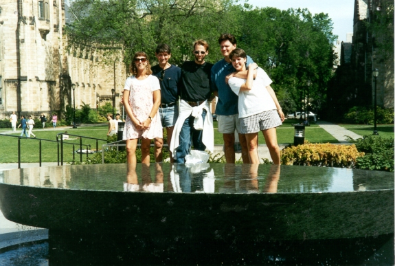 My family at my elite ivy league graduation weekend. Yes, my dad IS in cut off jean shorts.