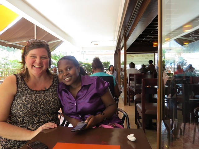 In Uganda with Esther